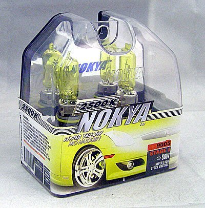 Nokya Arctic Yellow 9005 Fog Light Bulb