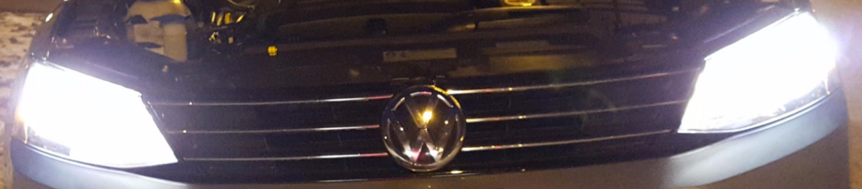 Philips X-Treme Vision on 2015 Volkswagon Jetta