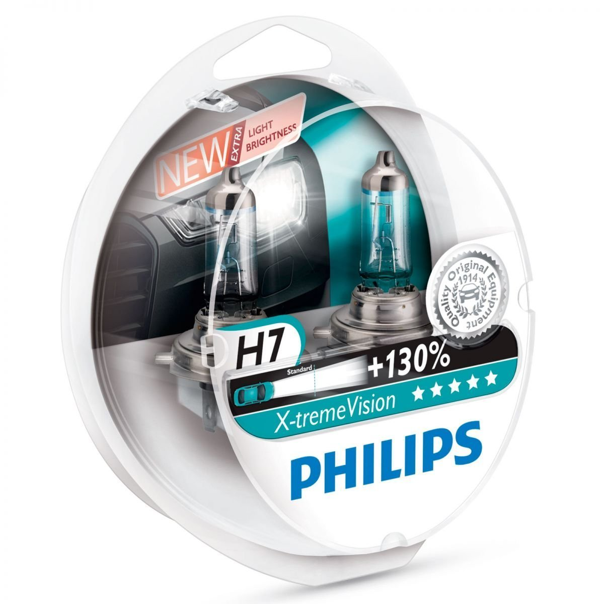 Philips X-treme Vision H7 Headlight Bulb