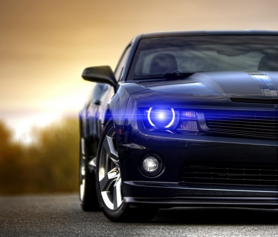 chevrolet-camaro-blue-headlights