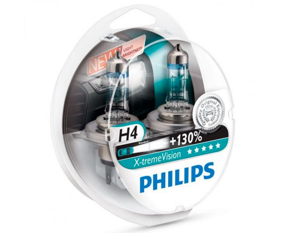 philips x-treme vision halogen headlight bulbs