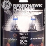 GE NightHawk Platinum Halogen Headlight Bulb