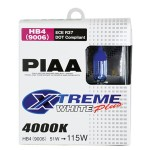 PIAA Xtreme White Plus High Performance Halogen Headlight Bulbs