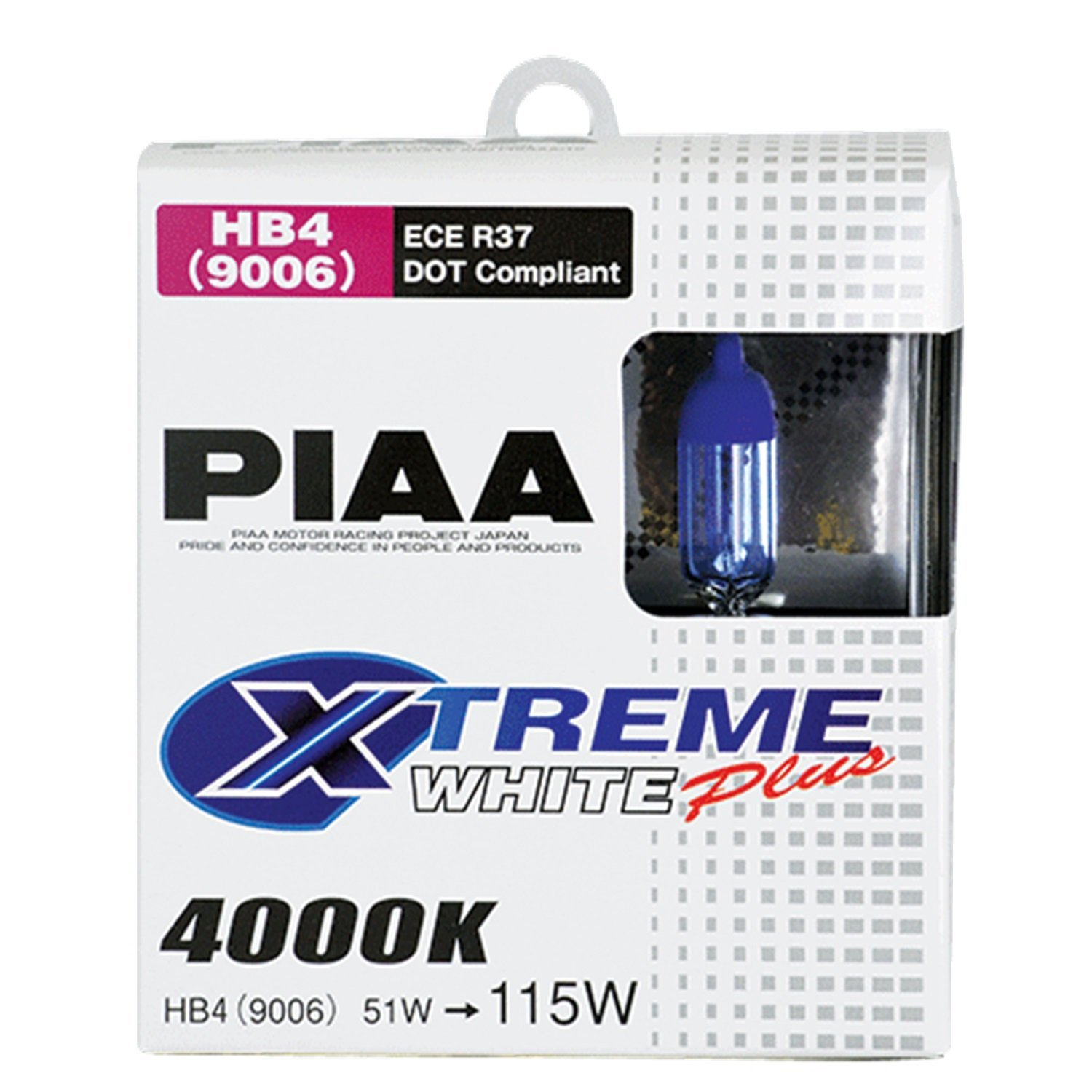 PIAA Xtreme White Plus Halogen Headlight Bulb