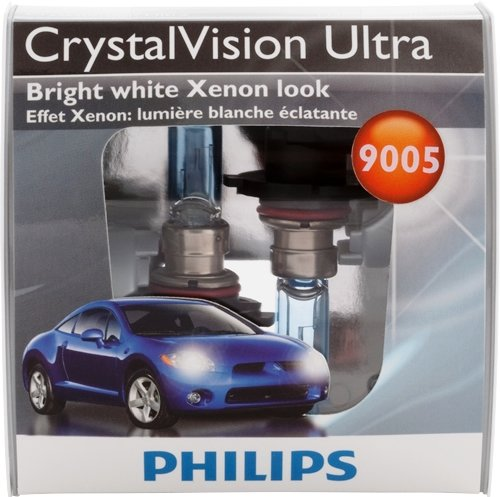 Philips CrystalVision Ultra Halogen Headlight Bulbs