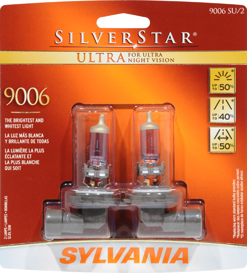 Sylvania Silverstar Ultra Halogen Headlight Bulb