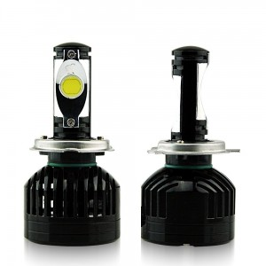 Car Rover 36W Cree Chips LED Headlight Super Bright 3600LM 6000K Headlamp