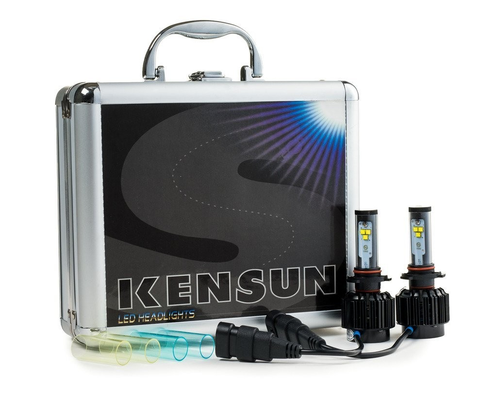 Kensun All-in-One LED Headlight Conversion Kit with Cree Bulbs