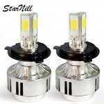 Starnill LED Headlight Conversion Kit - 72W 6600LM COB LED