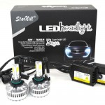 Starnill LED Headlight Conversion Kit - All Bulb Sizes - 80W 7200LM COB LED