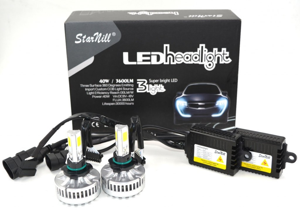 Starnill 80W COB LED Headlight Conversion Kit