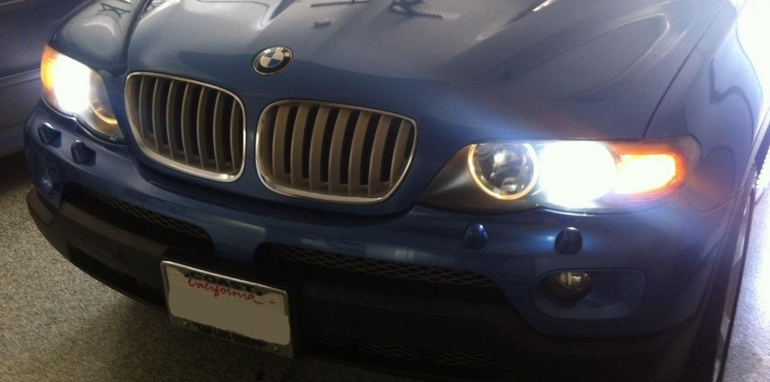 Kensun Xenon HID Headlights in BMW