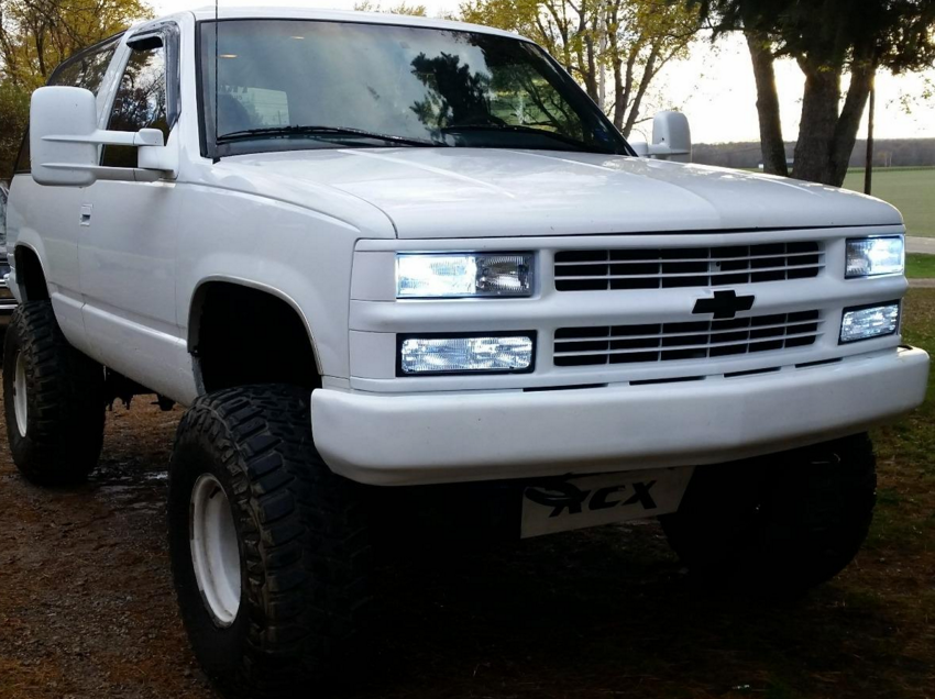 Chevy Blazer w: SDX HID Conversion Kit