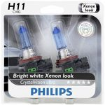 Philips H11 Crystal Vision Ultra Upgrade Headlight Bulb
