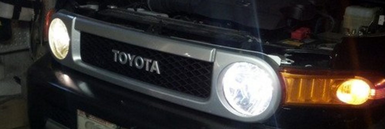 PIAA Xtreme White Plus in Toyota FJ Cruiser