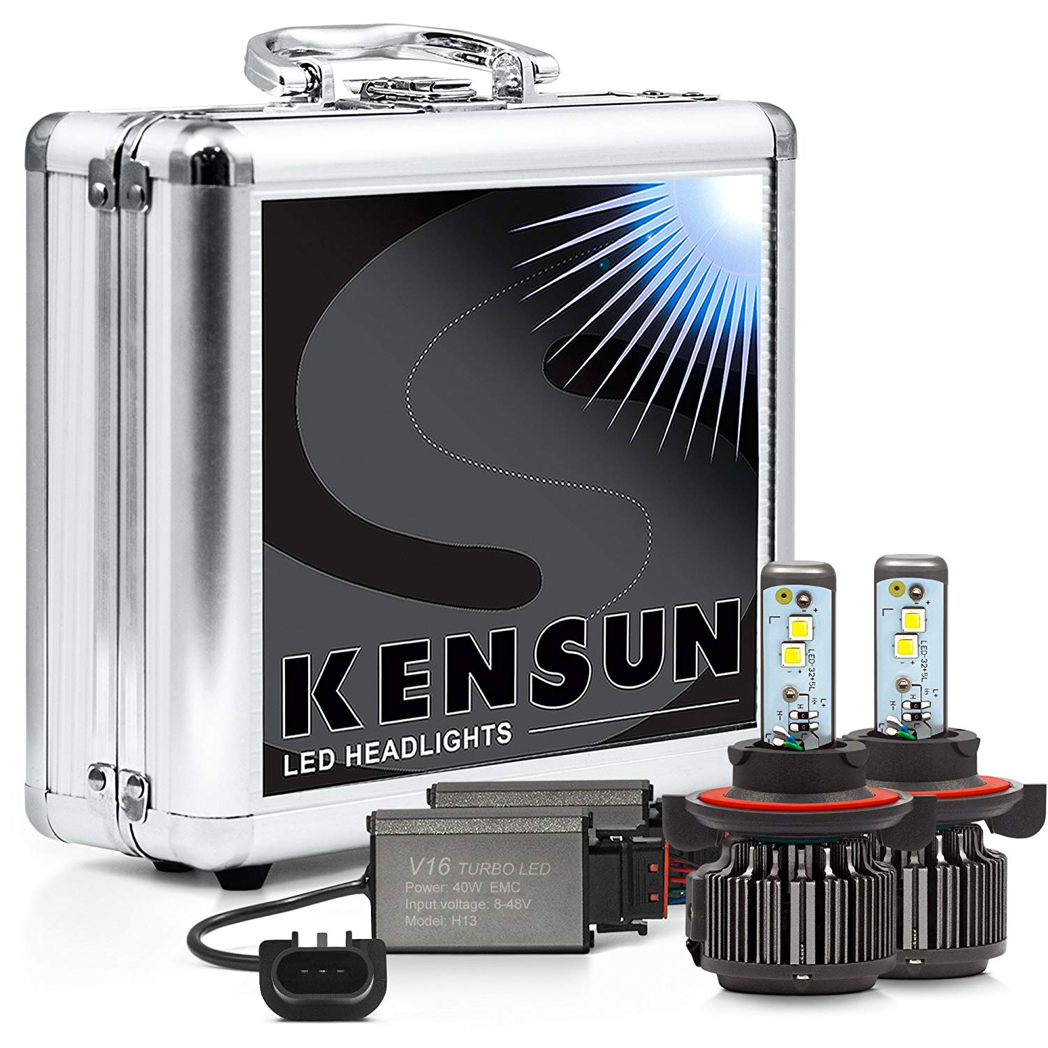 Kensun Super Bright Extreme Cree LED Headlight Conversion Kit