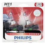 Philips X-TremeVision High Performance Halogen Headlight Bulbs