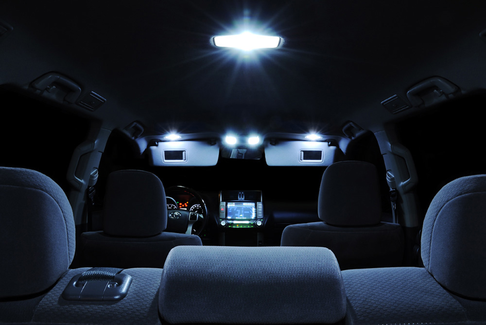 led lights for cars interior the image