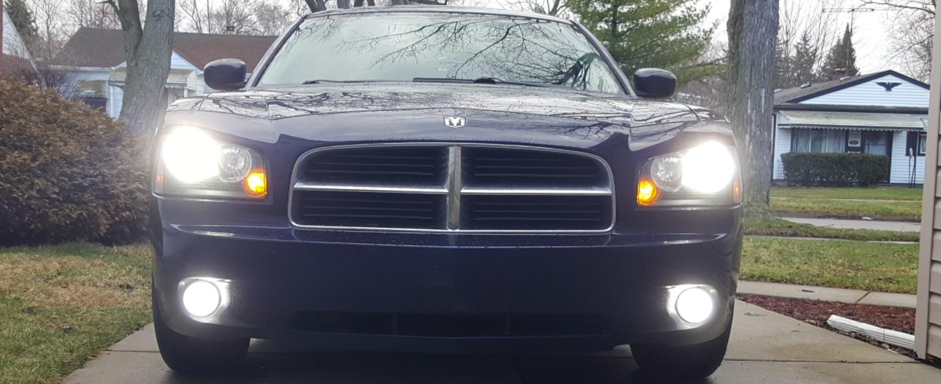 Jdm Astar Led Fog Lights On Dodge Charger Rt