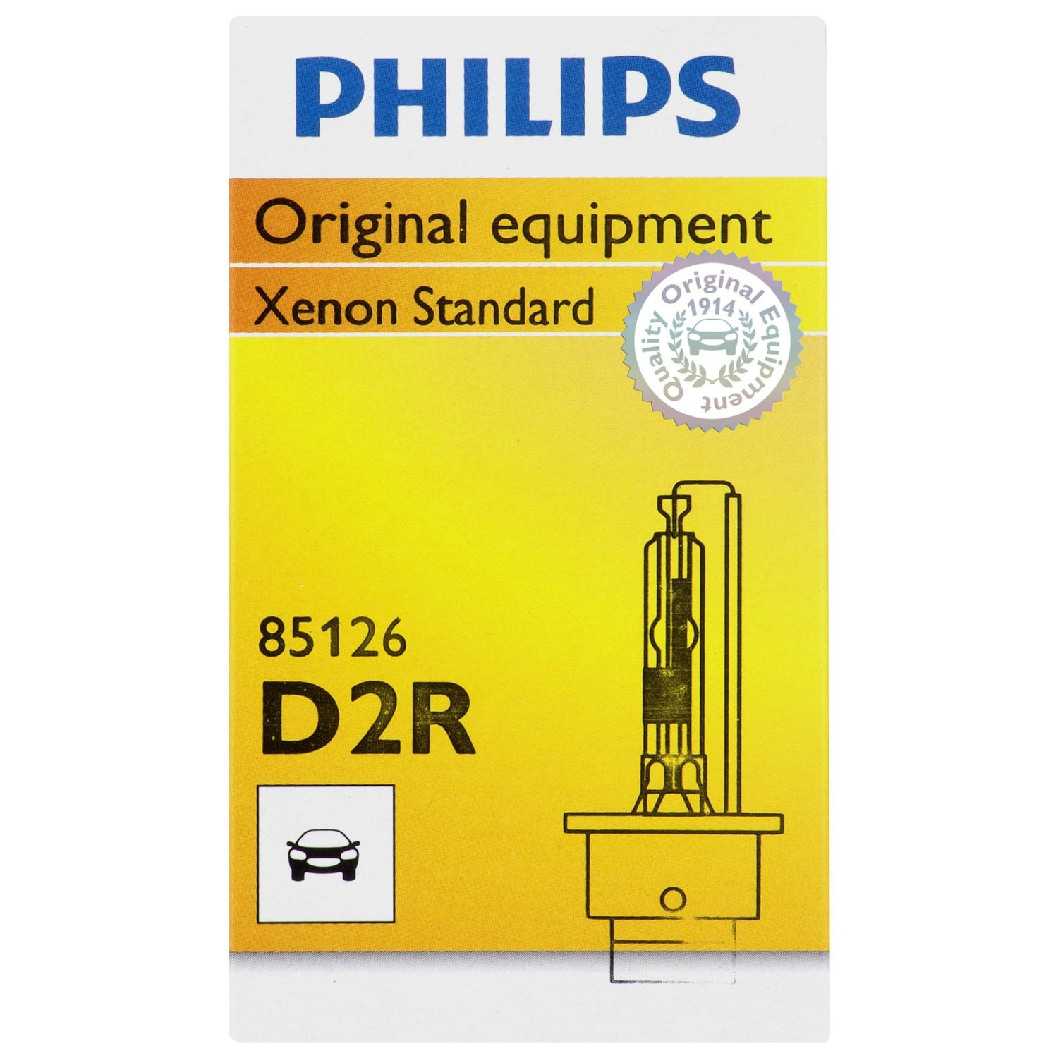 Philips Xenon HID Headlight Bulbs