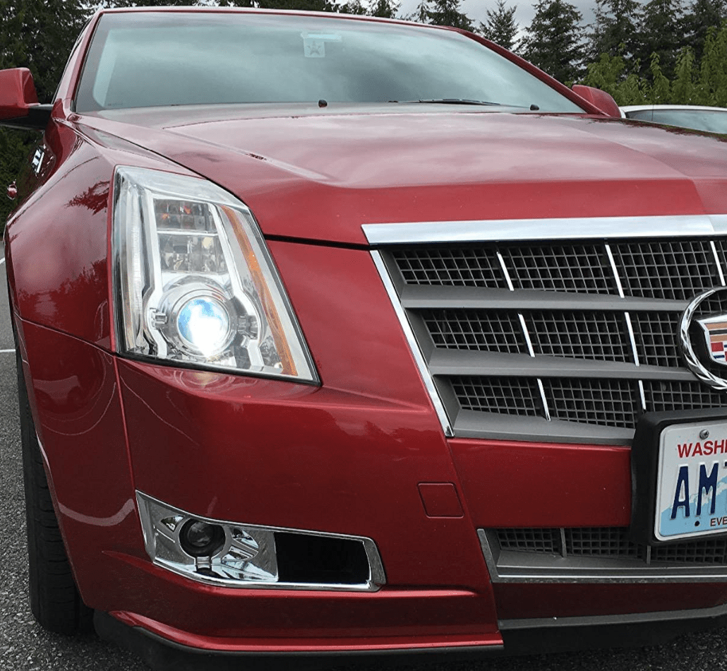 Philips Xenon HID Headlights on Cadillac CTS
