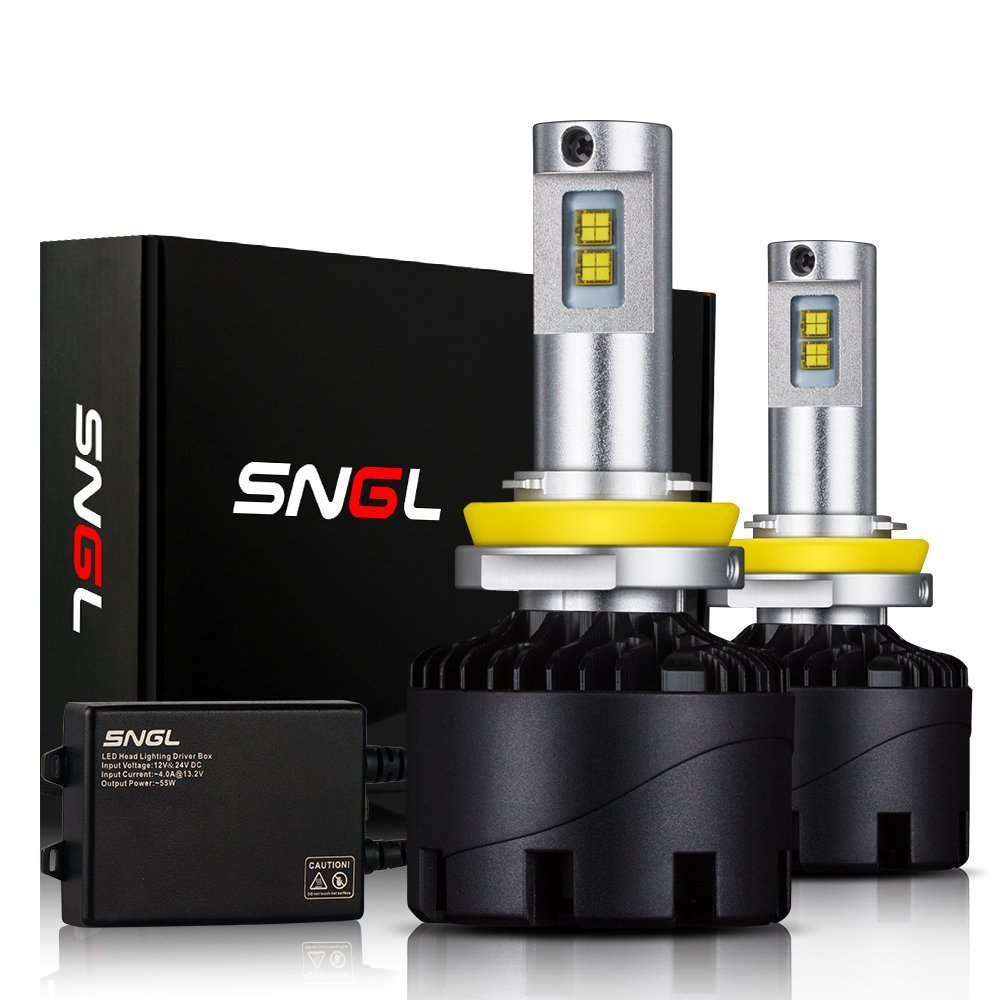 SNGL Super Bright LED Headlight Conversion Kit