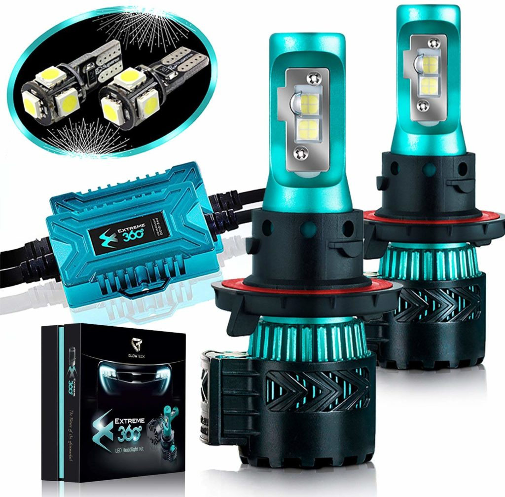 Glowteck LED Headlight Bulbs Conversion Kit