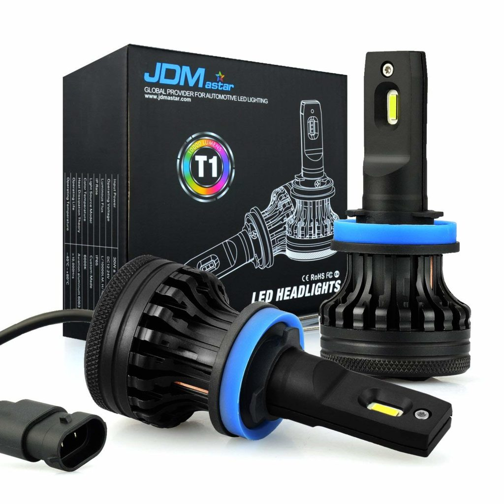 JDM ASTAR T1 LED Headlight Bulbs Conversion Kit