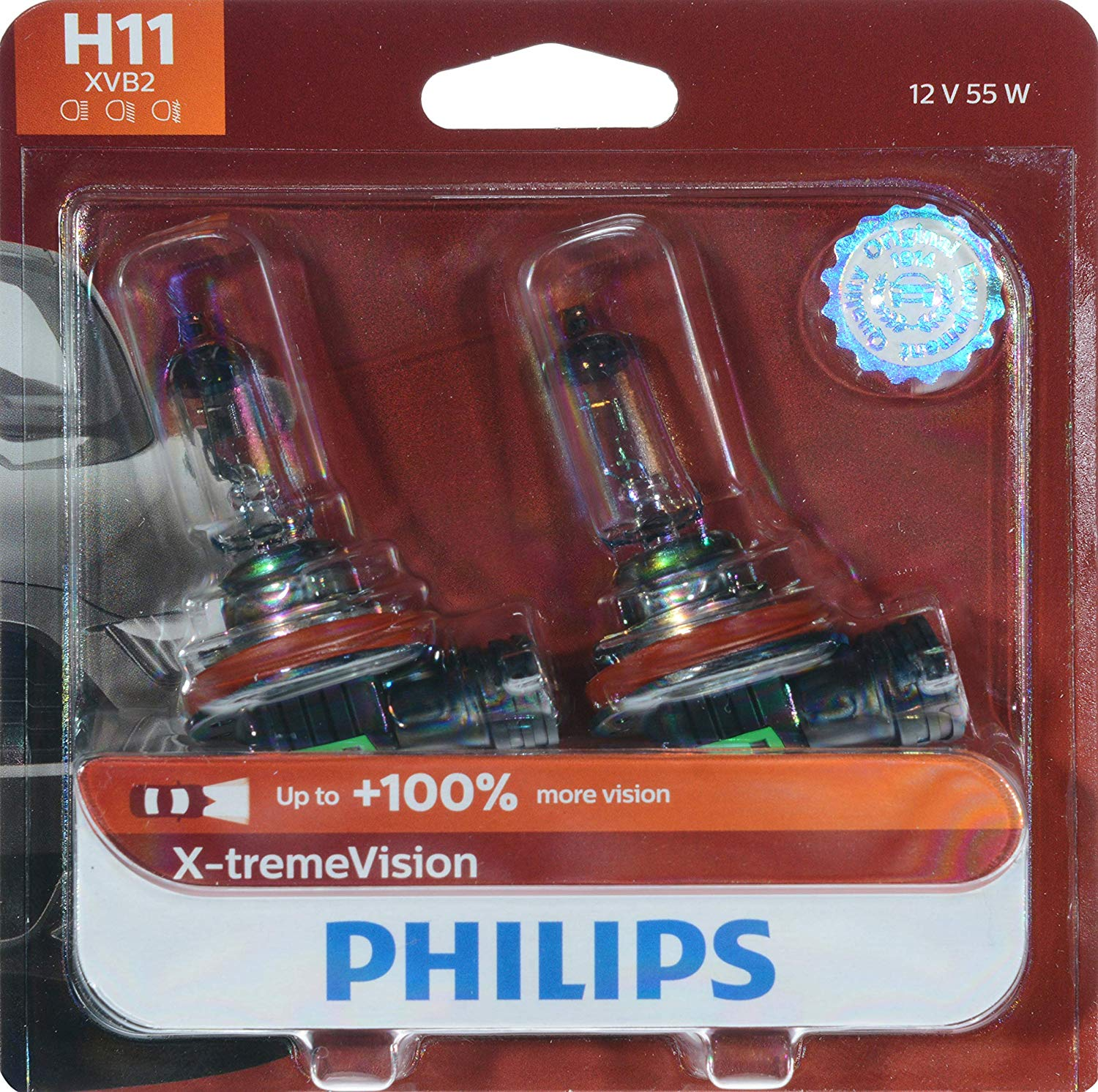 Philips X-TremeVision High Performance Halogen Headlights