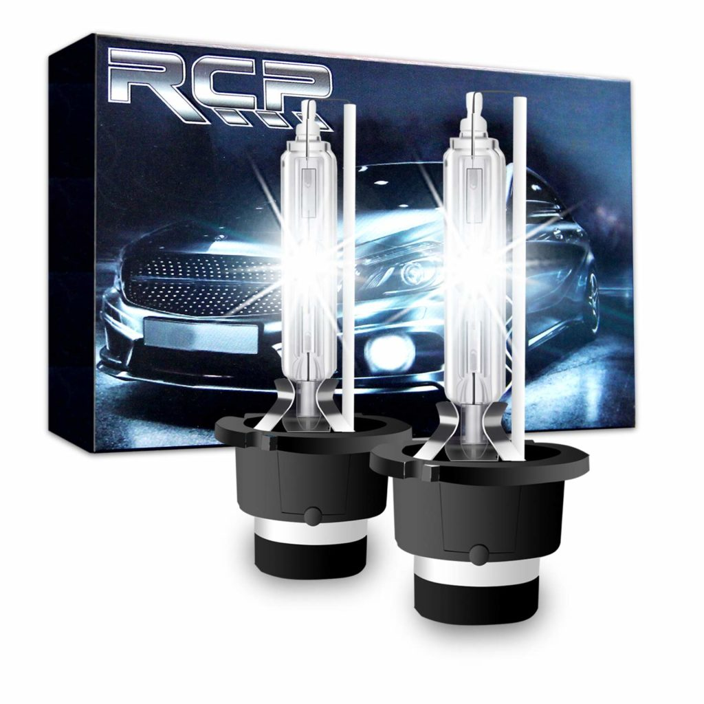 RCP 6000K Xenon HID Headlight Bulbs